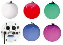 Led spheres 30cm 50cm stand alone deco