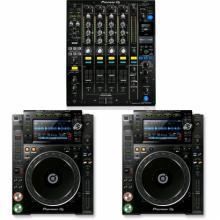 Pioneer DJ Case 2 CDJ2000 NXS2 + DJM900 NXS2