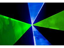 Radiant Laser Blue Green