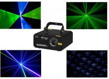 Radiant Laser Blue Green